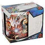 Stor Tazza in Ceramica da 325 ml, in Confezione Regalo di Avengers 'Dust' (02831), Nero