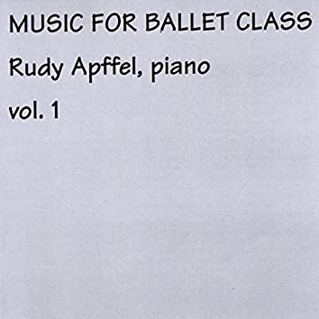 Rudy Apffel Music for Ballet Class, Vol. 1