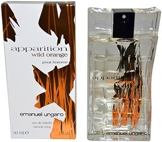 Apparition Wild Orange Eau de Toilette by Emanuel Ungaro for Men, 90 ml