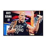 Leinwanddrucke Poster,Der Rock Dwayne Johnson