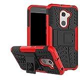 LFDZ Alcatel A3 Coque, Armor Support Protection Étui,Anti Chocs Bumper Étui Hybride Protection Housse Cover pour Alcatel A3...