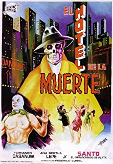 Pop Culture Graphics Santo en el Hotel de la Muerte Poster Movie Mexican 11x17 Santo Luis Arag?n Alfredo Wally Barr?n