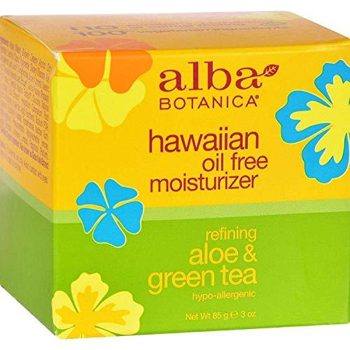 ALBA BOTANICA Moist,Oil FR,Aloe&GRN Tea, 3 FZ