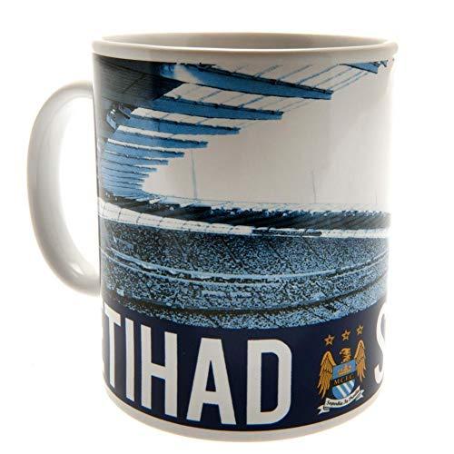 Manchester City Unisex Stadion-Tasse, mehrfarbig, 325 ml