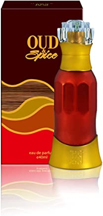 Ahmed Al Maghribi Perfume Oud & Spice For Unisex 40ml - Eau de Parfum