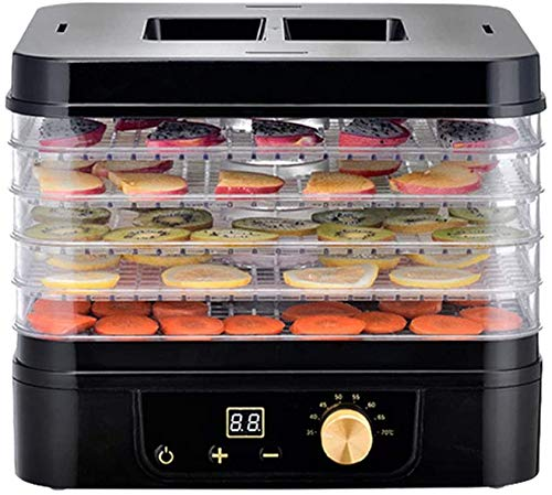 Great Deal! Food Dryer & Dehydrator with Digital Temperature Control & Timer Recirculation Heat Dist...