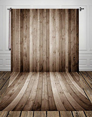 Coloc fotografie-achtergrond, 150 x 220 cm, Ash Brown, houten vloeren, fotostudio, achtergrond doek voor foto, achtergrond, canvas, achtergrond D-9684