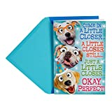 Hallmark Funny Father's Day Pop Up Card from All (Dog Group Hug)