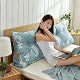 HAOLY Stripe Coussin Triangulaire Wedge Grand traversin,Tête de lit Dossier de Lecture,Coussin pour canapé lit,Banquette-lit Oreiller-S 70 * 20 * 50cm