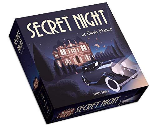 Secret Night at Davis Manor - Gioco da tavolo di Mistero (Castellano e Inglese) - Istruzioni in italiano in formato digitale