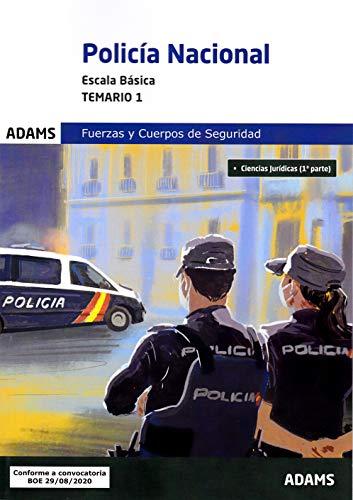 Temario 1 Policía Nacional. Escala Básica (Temarios 1 y 2 Policía Nacional. Escala Básica (obra completa))