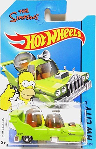 2014 Hot Wheels Hw City the Simpsons - the Homer