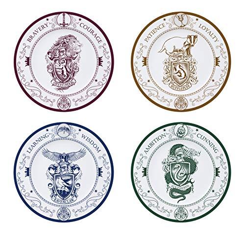 Unbekannt ABYstyle – Harry Potter Set mit 4 Tellern, 21 cm
