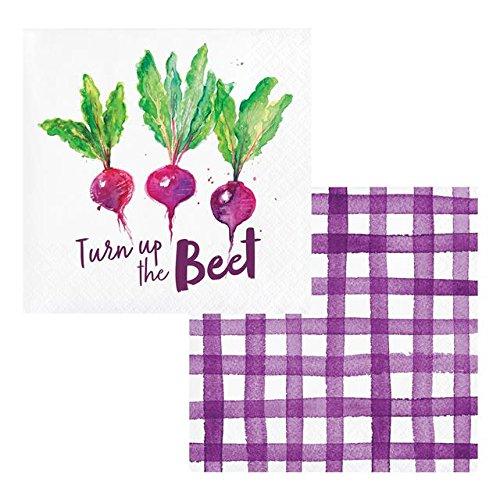 Elise PC332674 - Servilletas de papel para jardín (24 unidades, multicolor)