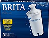 Brita Standard Pitcher Filters 3-Pack for Pitcher Replacement Filter