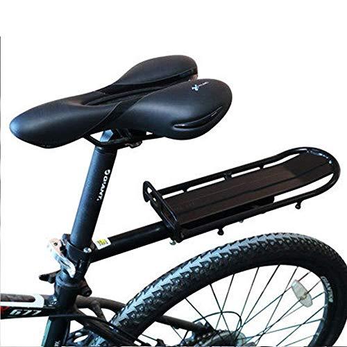 JKUNYU Accesorios Bicicleta de montaña de aleación de Aluminio Pinza de la Bandera, Ciclo de liberación rápida Portador Trasero, Bicicleta Equipaje Cargo Ajustable Rack Racks Racks Fit Road Bike