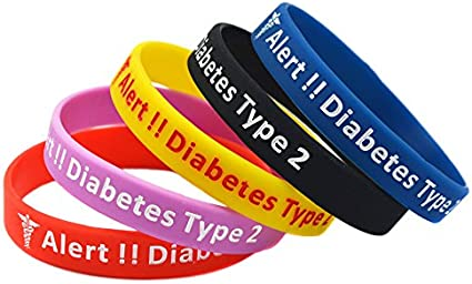 Diabetes Insulin Pump Sapphire Blue Interchangeable Diabetic Bracelet Type 1 Type 2 Blue Medical Bracelet