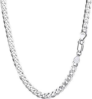 Bijoux, montres Colliers, pendentifs Collier en argent massif 925 maille torsadée 48cm bijou necklace