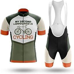 WULAU Maillot Cyclisme Kits Homme Vêtements Cyclis