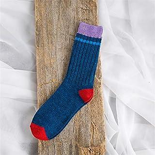 Calcetín de algodón para Mujer Calcetines de algodón Hombre Pareja Tobillo Calcetines de Invierno Calcetines Largos y Frescos para Hombre Calcetines Suaves y cálidos Crew Homme