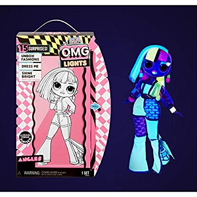 L.O.L. Surprise! O.M.G. Lights Angles Fashion Doll with 15 Surprises by MGA Entertainment, Inc.