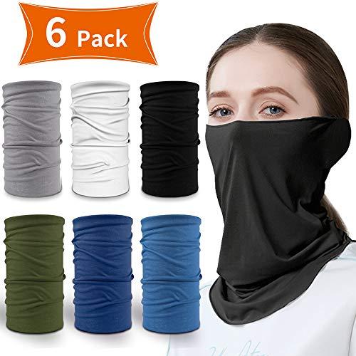 Multifunktionstuch, Schlauchtuch - Sommer Nackenschutz Angeln Schal Bandana für Sun UV Staubschutz Nackenschutz für Radfahren Laufen Wandern Cool