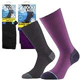 1000 Mile Damen Socken Fuchsia (Purple) Small UK3-5.5