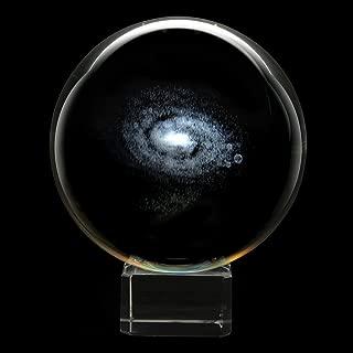 Glass Handmade Crystal Sphere - Galaxy - 3