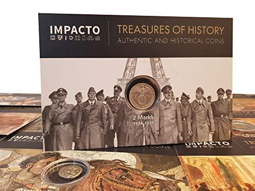 IMPACTO COLECCIONABLES Monedas Antiguas - Alemania, 2 Marcos 1936/9. La Plata del Tercer Reich