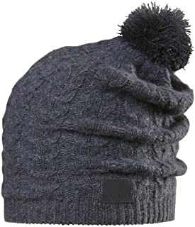 Chaos Women's Cashmere Beanie with Cable Pom