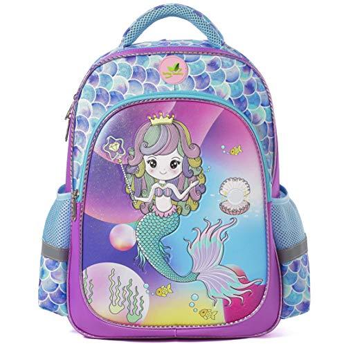 Mochila Escolar para niñas y niños Mochila Grande de Dibujos Animados Mochila
