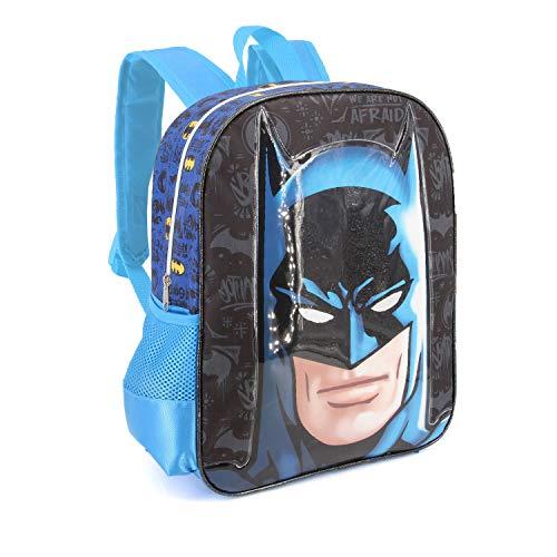 Karactermania Batman Knight-Nursery Backpack Kinder-Rucksack, 30 cm, 7 liters, Mehrfarbig (Multicolour)