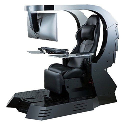 IW-J20 IMPERATOR WORKS Computer station,support triple monitors chair gaming