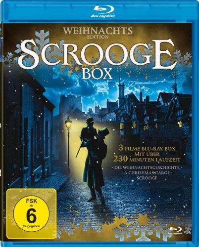 Scrooge Weihnachtsbox (3 Filme Sonderedition) [Blu-ray]