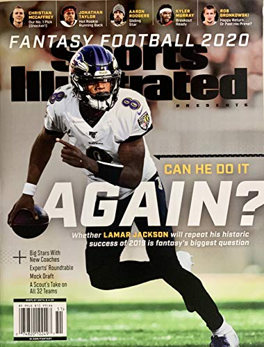 SPORTS ILLUSTRATED PRESENTS - FANTASY FOOTBALL 2020 - CAN HE DO IT AGISN? LAMAR JACKSON