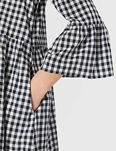 edc by Esprit 031CC1E320 Vestido, 112/Off White 3, 40 para Mujer