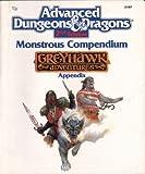 Monstrous Compendium - Greyhawk Adventures