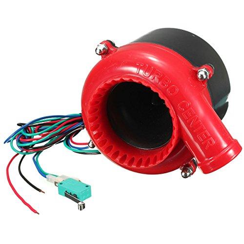 Valvula de escape de turbo - SODIAL(R) Valvula de escape de turbo electronica de coche valvula de descarga de sonido analogico BOV