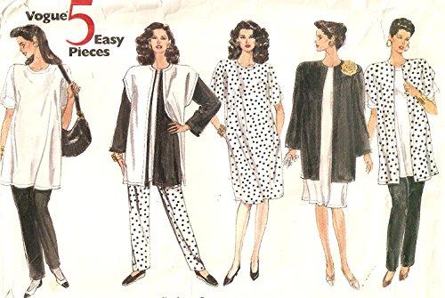Vogue vintage 1980s sewing pattern 2466 maternity wardrobe - Size 8-10-12