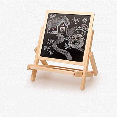 JTKDL Pintura Junta sólido de elevación del Tablero de Dibujo de Madera Niños Caballete pequeña Pizarra Bracket Inicio Pintura magnética Conjunto del Tablero de Escritura