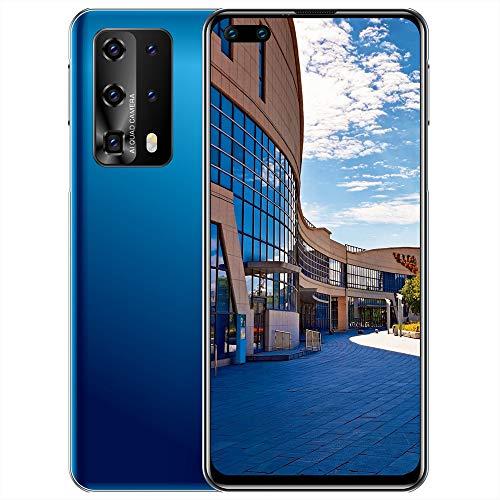 Smartphone 3G Economico Telefono Sbloccato 7,12 Pollici FHD + Display 32 GB Rom + 2 GB RAM Dual SIM 5000 mAh Android 10.0 Smartphone Sbloccato con Il Viso