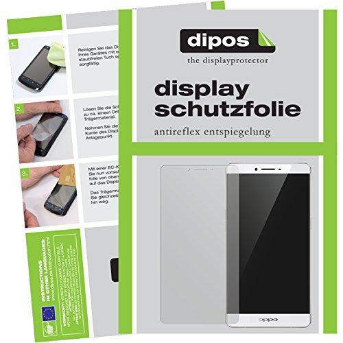 dipos I 6X Schutzfolie matt kompatibel mit Oppo R7 Plus Folie Bildschirmschutzfolie