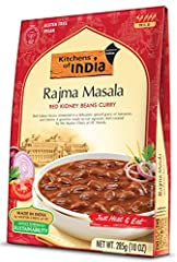 Red kidney beans simmered in a delicately spiced gravy of tomatoes and onions Ancient recipes handcrafted by Master Chefs of ITC Hotels Vegan, 100% all-natural, and preservative free Kosher Approved and gluten free Product of India