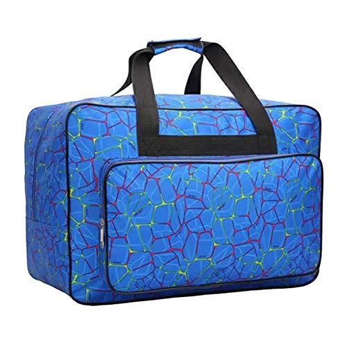XinKu wasserdichte Canvas-Nähmaschinentasche, große Kapazität, Aufbewahrungstasche für Nähmaschine, Reise, tragbare Nähmaschine, Handtasche, gepolsterter Aufbewahrungskoffer mit Taschen und Griff