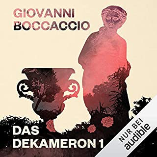 Das Dekameron 1                   Autor:                                                                                                                                 Giovanni Boccaccio                               Sprecher:                                                                                                                                 Reinhard Kuhnert                      Spieldauer: 17 Std. und 58 Min.     47 Bewertungen     Gesamt 4,2