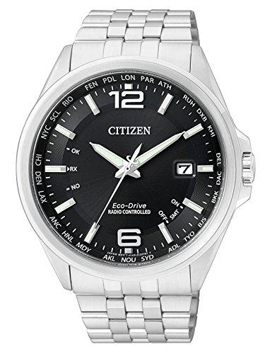 Citizen Herren Analog Quarz Uhr mit Edelstahl Armband CB0010-88E