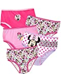 Disney - Culotte Pack de Cinq - Minnie Mouse - Fille - Multicolore - 18-24 Mois