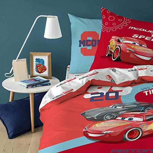 Cars Juego de Cama, Rojo, 140 x 200 cm