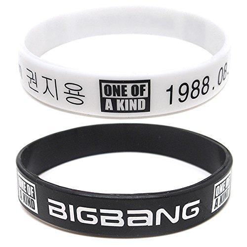 CaseEden BIGBANG ビッグバン G-DRAGON ジヨン 88番 フットボールTシャツ & 応援リストバンド2個 & CaseEdenミニファイバークロス セット 女性用XLサイズ