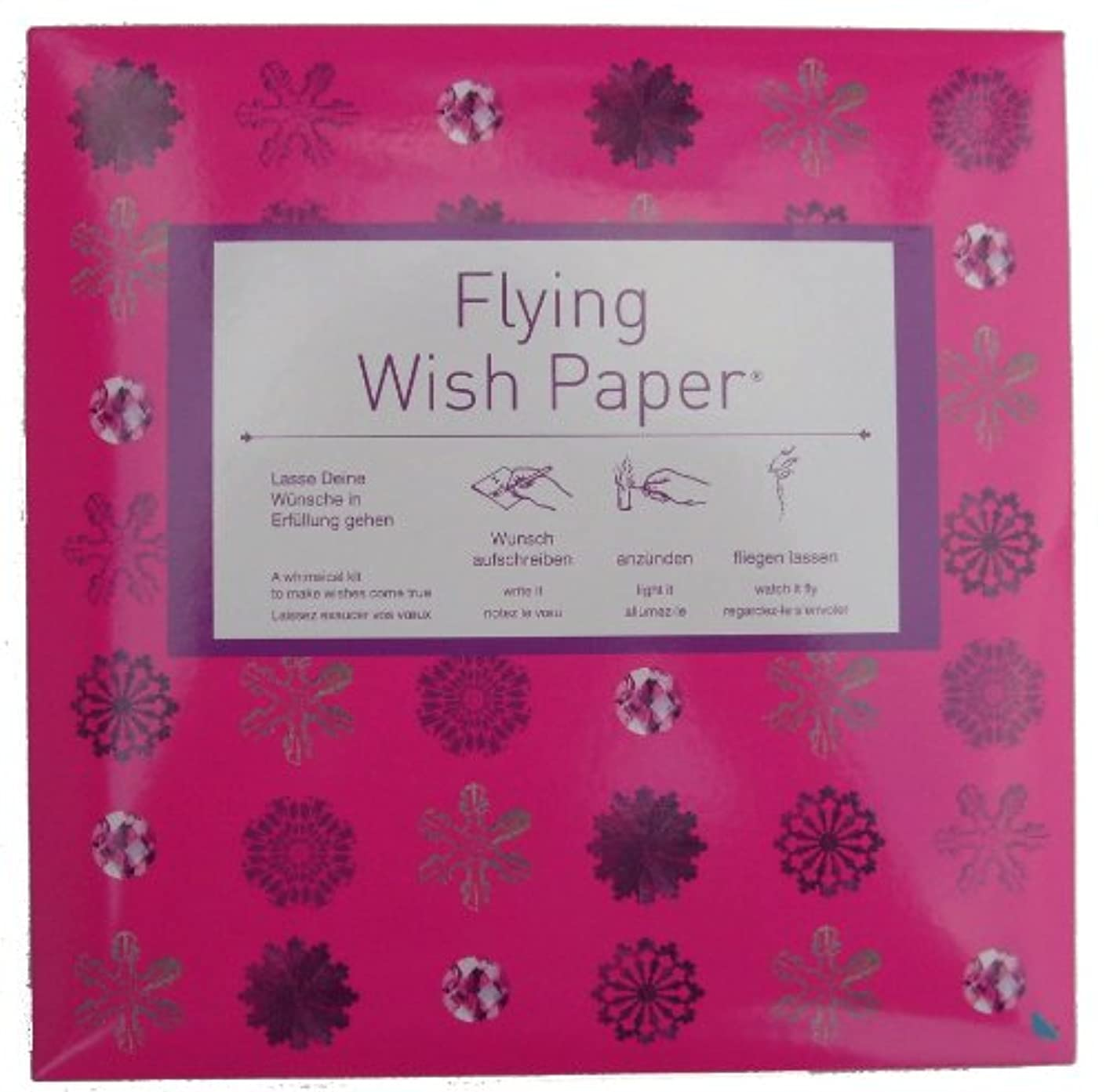Contento 4028126169704 Flying Wish Paper Flower, One Size, Pink